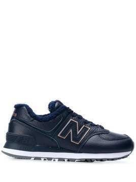 New Balance WL574v2 low-top sneakers - Blue