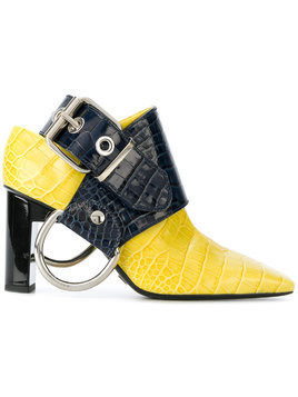 Alyx sling heels - Yellow & Orange