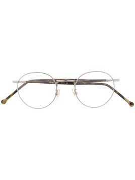 KYME round frame optical glasses - Neutrals