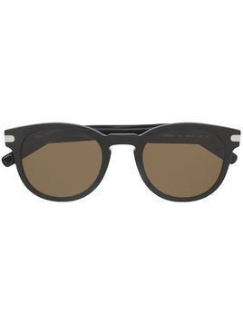Salvatore Ferragamo round frame sunglasses - Black