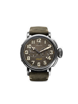 Zenith Pilot Type 20 Chronograph Ton-Up 45mm - C773 Slate Grey B Green Oily