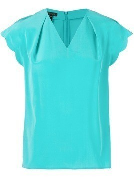 Escada v-neck blouse - Blue