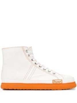 Martine Rose lace-up hi-top sneakers - White