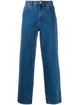 A.P.C. high-rise straight leg jeans - Blue