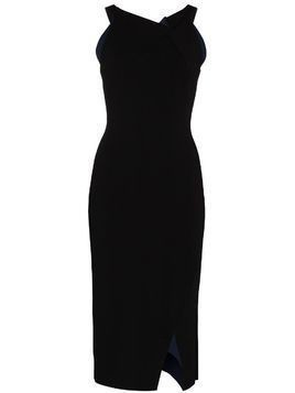 Roland Mouret Klint fitted midi dress - Black