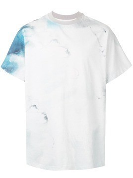 Fengchen Wang abstract paint print T-shirt - White