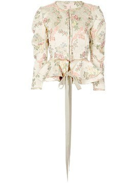 Brock Collection floral jacket - NEUTRALS