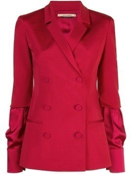 Hellessy double-breasted blazer - Red