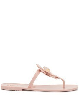 Tory Burch Flower jelly sandals - Pink