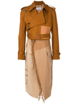 Loewe - Blanket trench coat - Herren - Lambs Wool/Cashmere - 48 - Brown