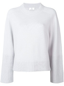 Allude round neck jumper - Grey