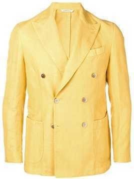 Al Duca D'Aosta 1902 double breasted blazer - Yellow