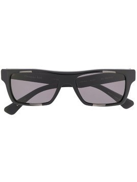 Christian Roth rectangular frame sunglasses - Black