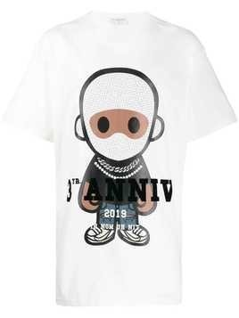 Ih Nom Uh Nit logo graphic print T-shirt - White