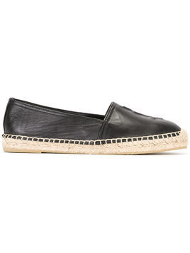 Saint Laurent - Monogram espadrilles - Damen - Calf Leather/Leather/rubber - 41 - Black