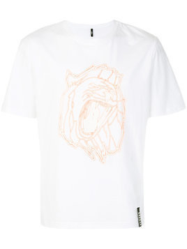Versus - printed lion T-shirt - Herren - Cotton - S - White
