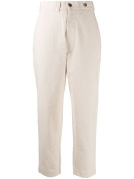 Margaret Howell high rise tapered jeans - NEUTRALS
