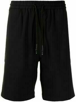 Off Duty piped-detail track shorts - Black