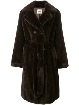 Stand Faustine fur coat - Brown