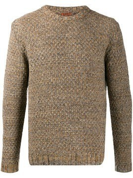 Barena textured knit jumper - NEUTRALS