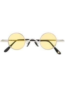 KYME round frame sunglasses - Silver