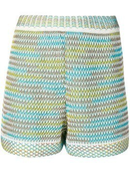 M Missoni knitted shorts - Green
