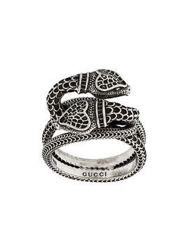 Gucci garden snakes ring - Metallic