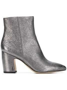 Sam Edelman metallic ankle boots - Grey