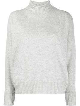 Allude long sleeve knit jumper - Grey