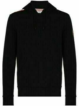 Rossignol logo-patch cotton hoodie - Black