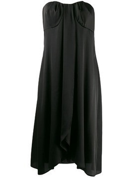 Federica Tosi strapless party dress - Black
