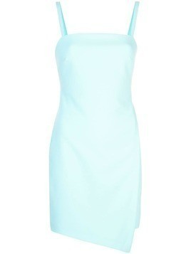 Likely foldover mini dress - Blue