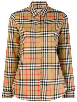Burberry house check shirt - Brown