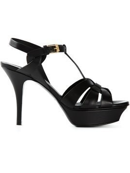 Saint Laurent 'Tribute' sandals - Black