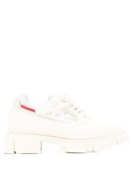 Both platform sneakers - White