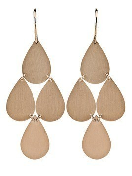 Irene Neuwirth chandelier earrings - Metallic