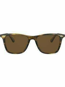 Oliver Peoples Ollis square-frame sunglasses - Brown