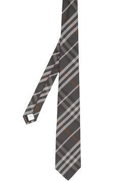 Burberry classic cut Vintage Check tie - Grey