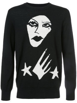 Haculla Witchslap jumper - Black