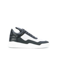 Filling Pieces contrast panel sneakers - Black
