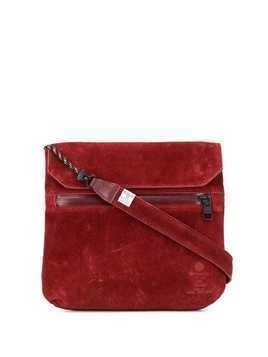 As2ov flat shoulder bag - Red