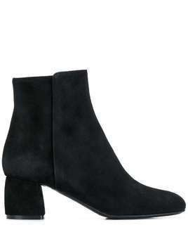 AGL block heel ankle boots - Black