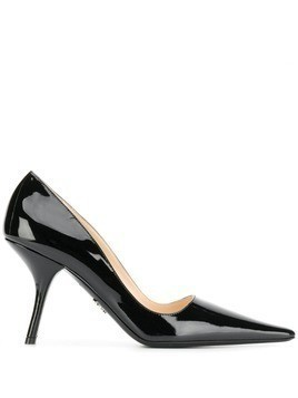 Prada Vernice 90 pumps - Black