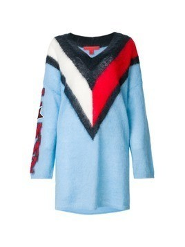 Hilfiger Collection Tommy Chevron oversized dress - Multicolour