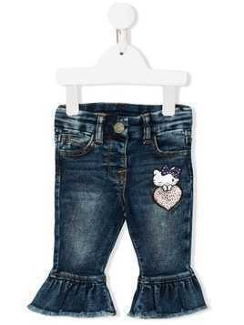Monnalisa Hello Kitty jeans - Blue