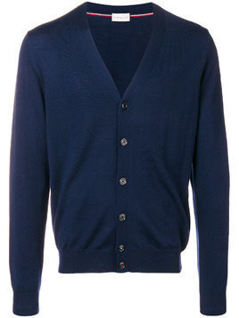 Moncler V-neck cardigan - Blue