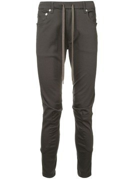 Attachment skinny-fit biker trousers - Grey