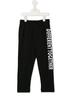Molo difference logo joggers - Black
