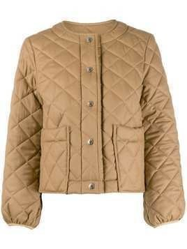 Mackintosh Keiss quilted jacket - NEUTRALS