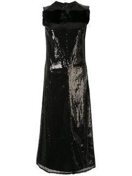 Yang Li sequinned midi dress - Black